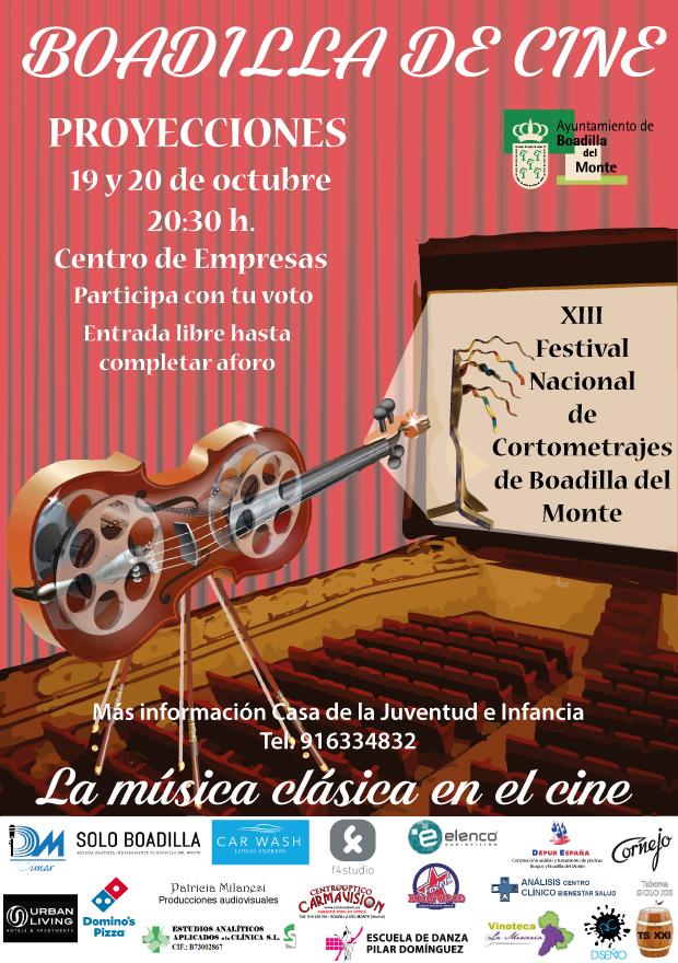 Festival nacional de cortometrajes Boadilla Cine 2018 2