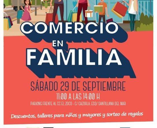 Comercio en familia 2018 en Boadilla