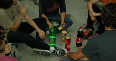 Consumo de alcohol entre menores