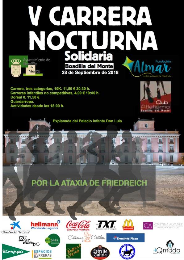 V Edición de la carrera nocturna de Boadilla del Monte