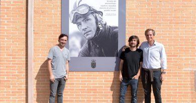 Inauguración de la remodelación del polideportivo Angel Nieto