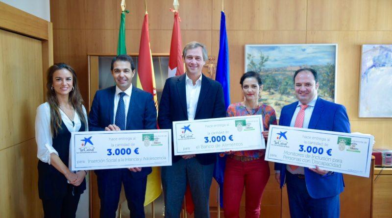 Caixabank dona 9.000 euros para financiar proyectos de acción social