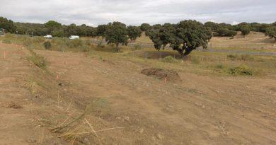 Comienza la construcción de los 23 huertos urbanos en Boadilla