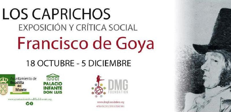 Exposición de Goya en el Palacio del Infante Don Luis de Boadilla