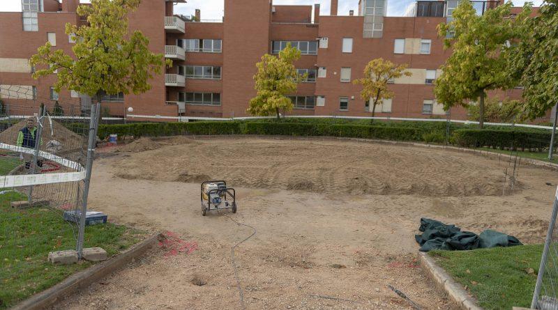 Remodelación parque Valle Inclán Boadilla del Monte