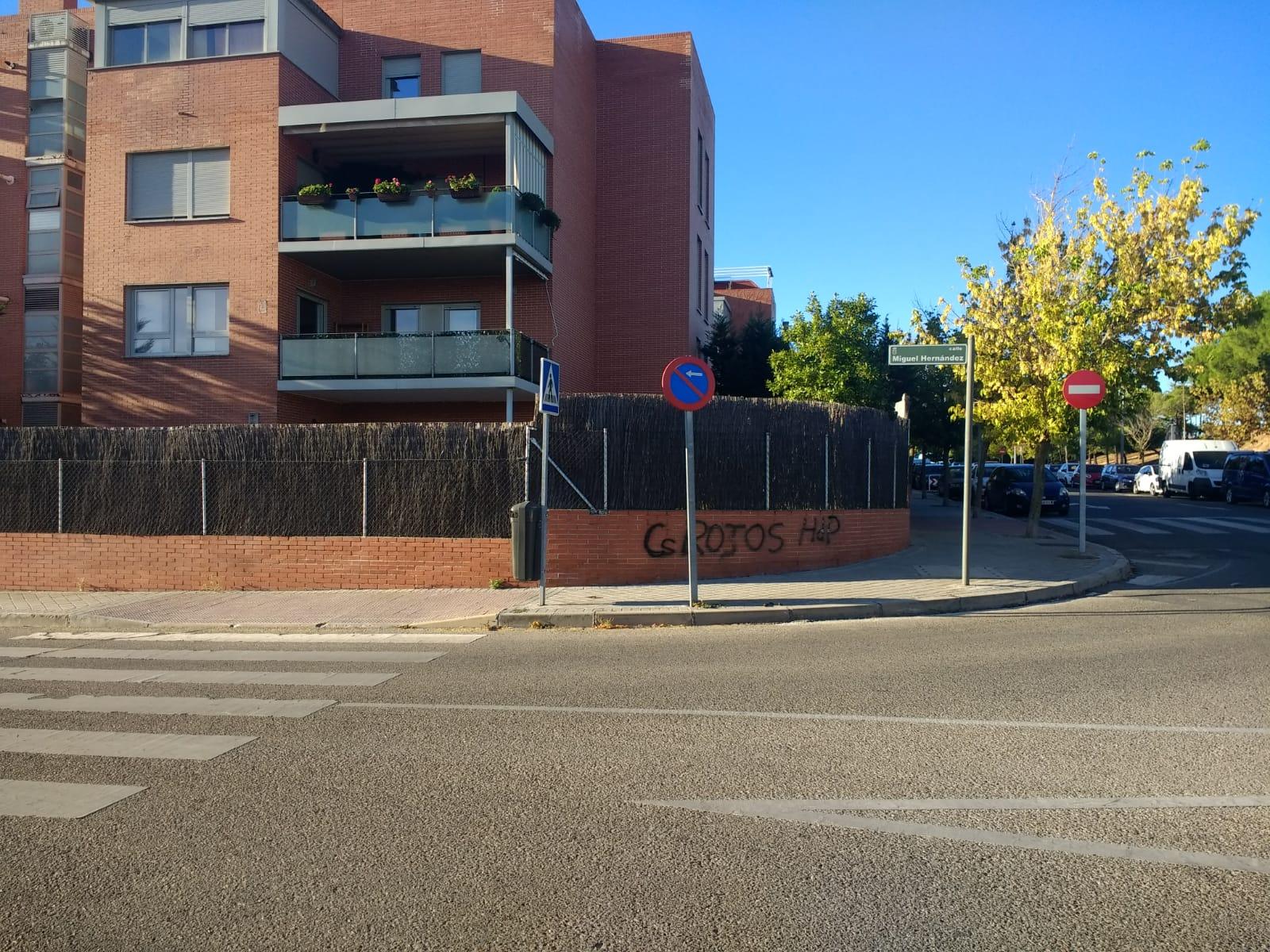 Acto vandálico en la vivienda de Ricardo Díaz, portavoz de Ciudadanos en Boadilla del Monte