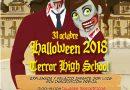 Pasaje del Terror en la noche de Halloween