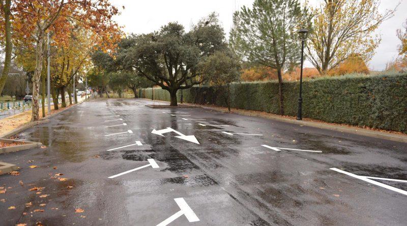 Finalizada la ampliación del aparcamiento del polideportivo municipal