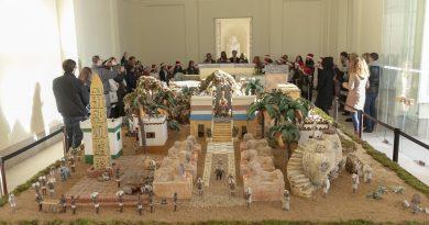 Inaugurado el Belén en el Palacio