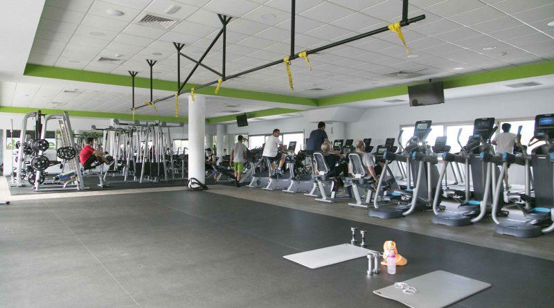 Sala de gimnasia del Centro Deportivo Be One