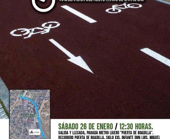 Biesta de la bicicleta en Boadilla 2019