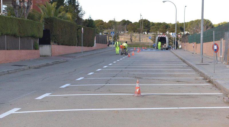 Más plazas de aparcamiento en la calle Miguel Hernández de Boadilla del Monte