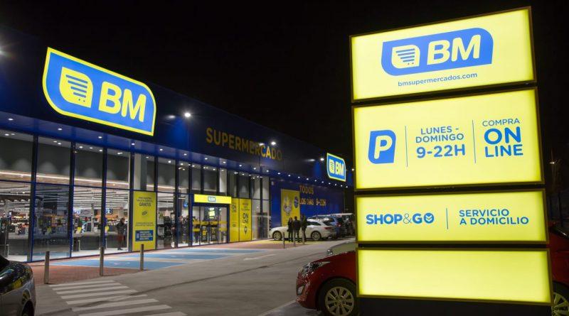 Supermercado de la cadena BM en Boadilla del Monte
