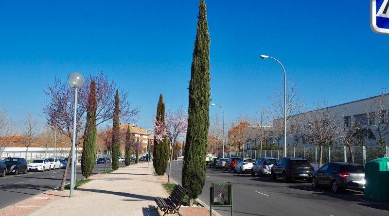 Calle Isabel de Farnesio en Boadilla del Monte