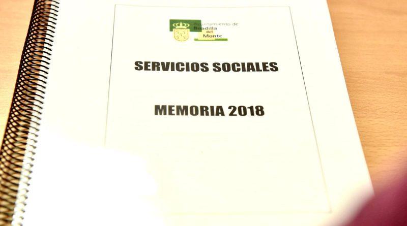 Memoria anual de Servicios Sociales Boadilla del Monte 2018