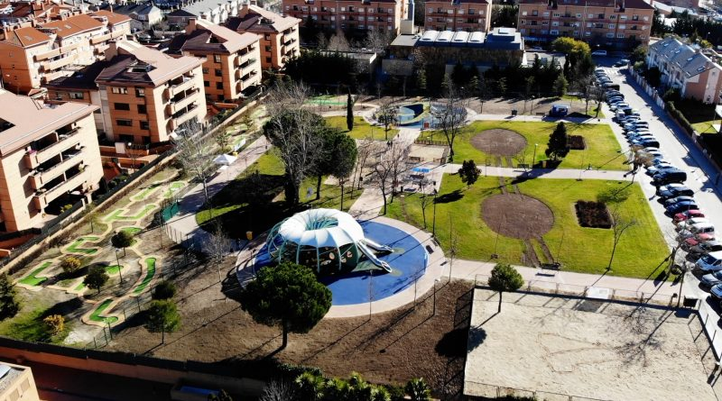 Parque Miguel Hernández de Boadilla del Monte (Parque de la Tirolina)