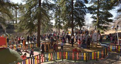 Remodelación del parque del Caño en Boadilla