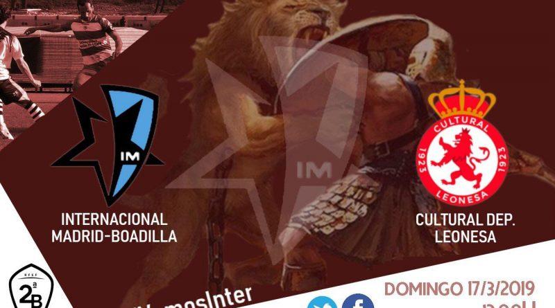 Resumen del Inter Madrid Boadilla vs Cultural Leonesa 1-1