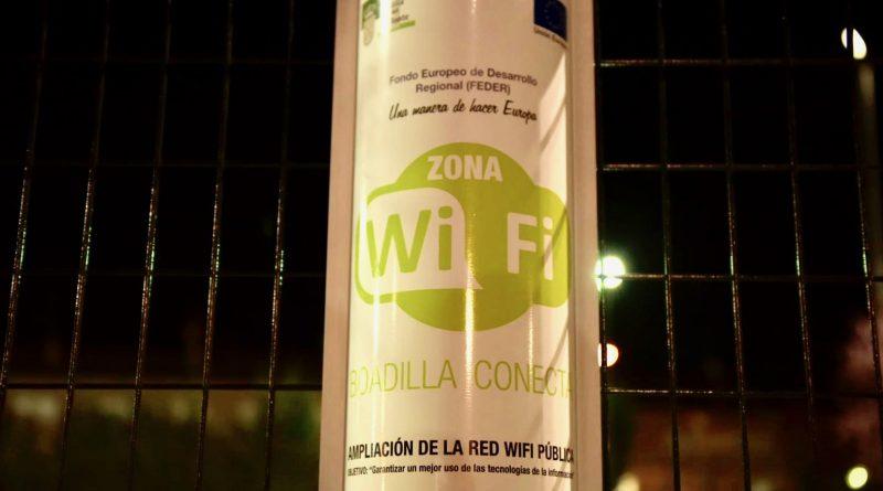 Zona wifi en Boadilla del Monte