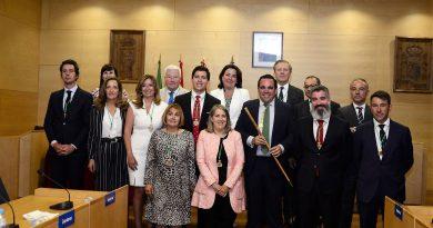Úbeda conforma una nueva estructura de gobierno tras ser investido Alcalde