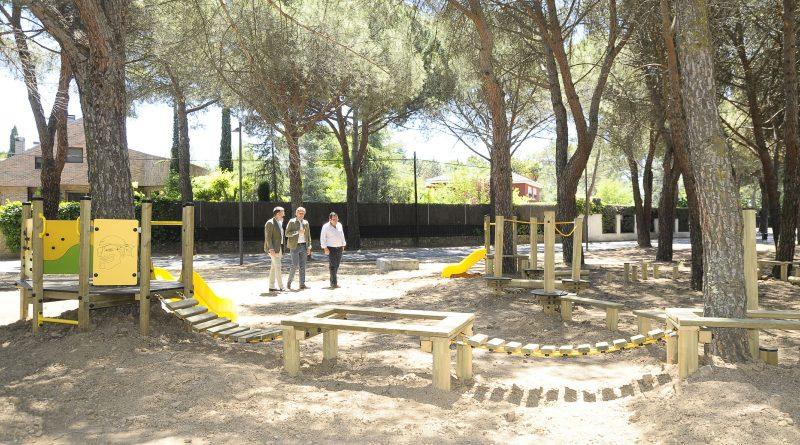 Inaugurado el parque forestal de Las Lomas