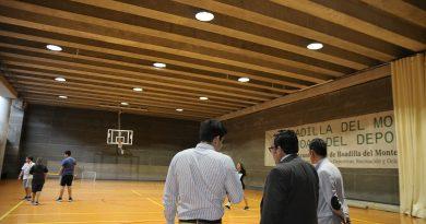 El Ayuntamiento renueva la iluminación de las instalaciones deportivas municipales