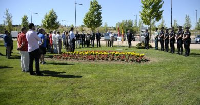 Boadilla rinde homenaje a Miguel Ángel Blanco en el vigésimo segundo aniversario de su asesinato a manos de ETA