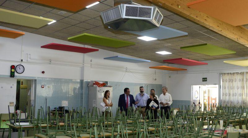 El Ayuntamiento amplía las zonas con bioclimatización en el CEIP Teresa Berganza