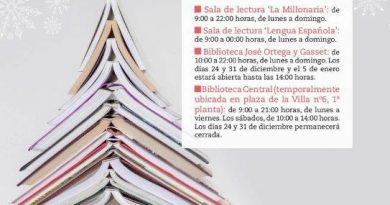 Teleboadilla. Horario especial de apertura de bibliotecas 2019
