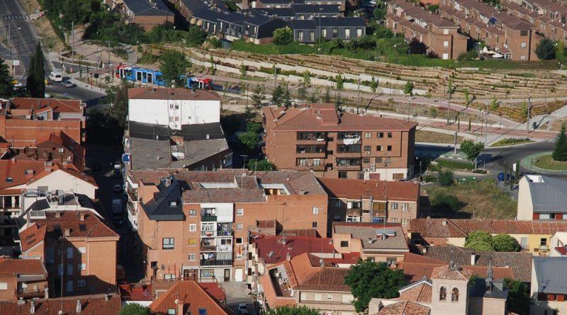 Telebodailla. Vista aérea de Boadilla del Monte