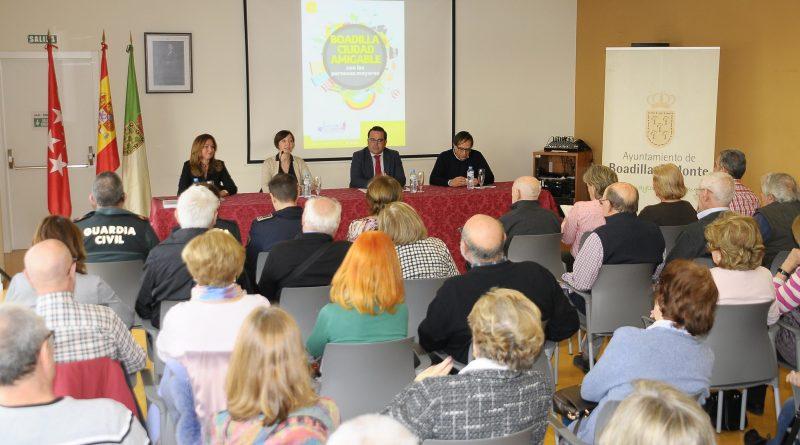 Teleboadilla. Boadilla presenta su Diagnóstico y Plan de Acción como Ciudad Amigable con las Personas Mayores