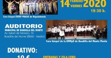 Teleboadilla. Concierto Gospel solidario Rotary Club
