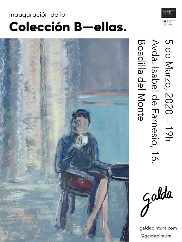 Teleboadilla. Exposición de pintura Eva Galda