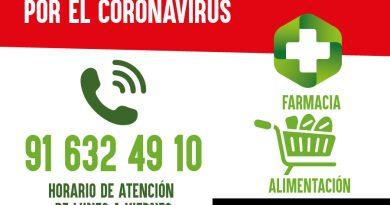 Teleboadilla. El Ayuntamiento facilita un servicio de compras y gestiones a personas aisladas en situación de aislamiento