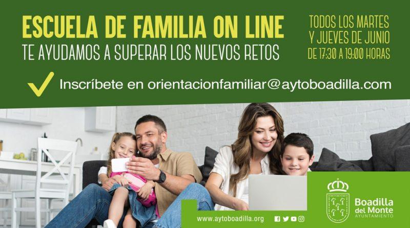 Teleboadilla. Escuela de familia online
