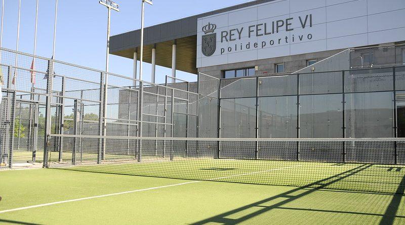 Teleboadilla. Pistas de pádel del polideportivo Rey Felipe VI