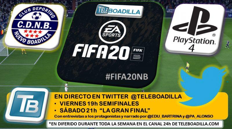 Teleboadilla. Torneo FIFA20