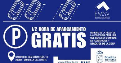 Teleboadilla. Tickets de aparcamiento gratis