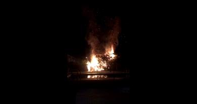Teleboadilla. Incendio en una urbanización de Boadilla del Monte