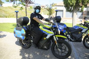 Teleboadilla. Motos eléctricas de la Policía Local de Boadilla