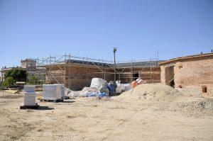 Teleboadilla. Obras avanzadas en el Gallinero del Palacio del Infante Don Luis de Boadilla del Monte