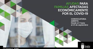 Teleboadilla. Ayudas a familias afectadas por el Covid-19