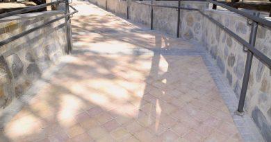 Teleboadilla. Conexión peatonal entre las calles Albarracín y Sigüenza