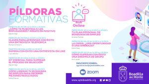 Teleboadilla. Talleres online gratuitos de apoyo en la búsqueda de empleo