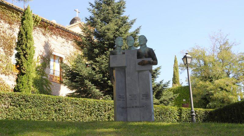 Teleboadilla. Monumento en homenaje a los tres mártires de Boadilla asesinados en la Guerra Civil