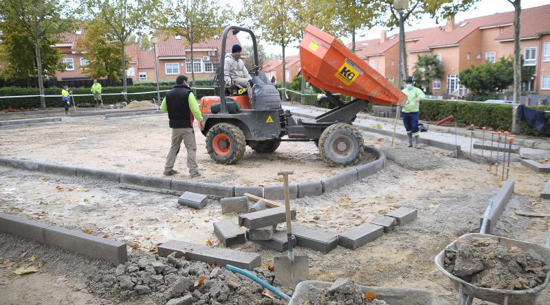 Teleboadilla. Remodelación parque Victoria Rubio