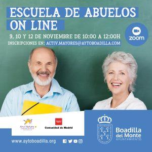 Teleboadilla. Escuela de Abuelos online en Boadilla del Monte