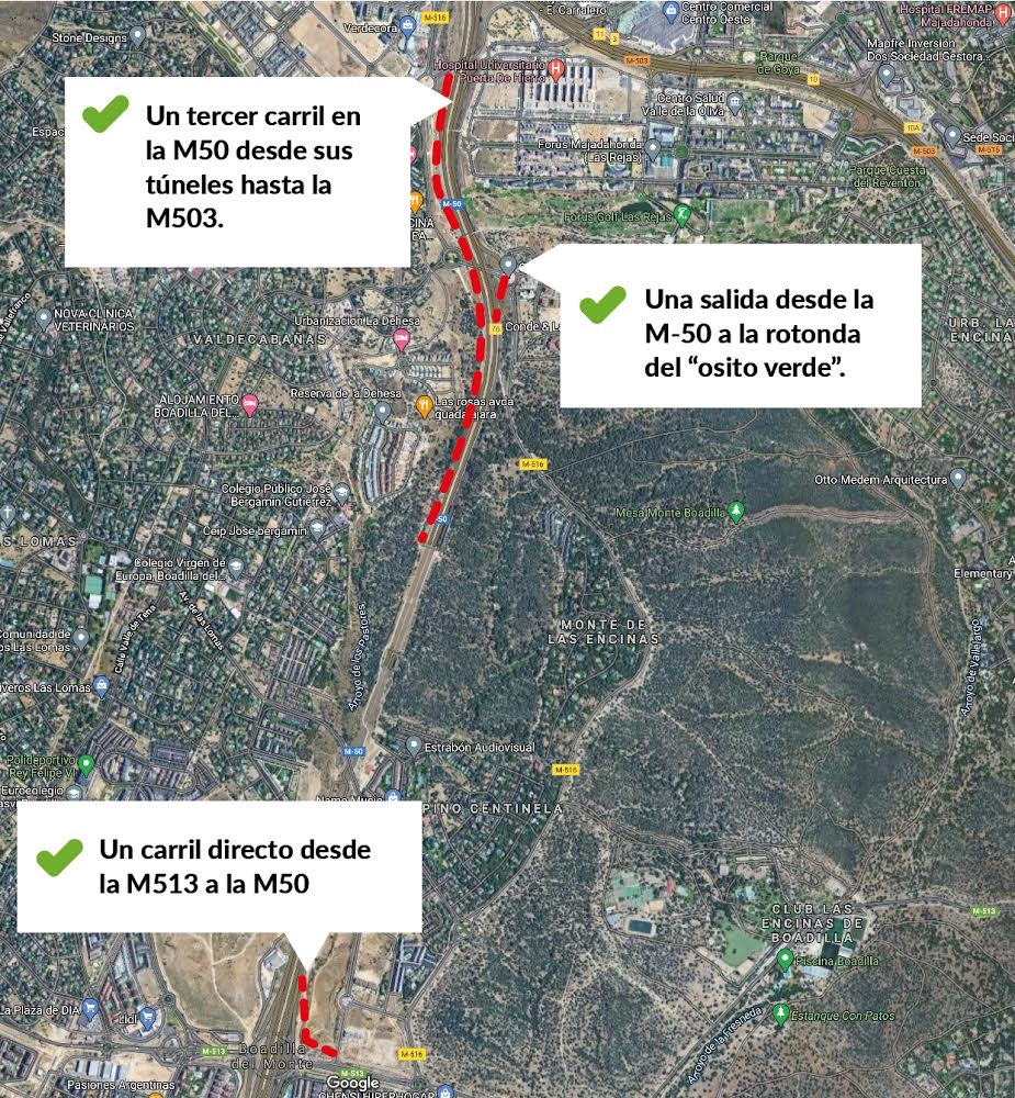Teleboadilla.-Proyecto-de-tercer-carril-en-los-túneles-de-la-M-50-a-su-paso-por-Boadilla-del-Monte