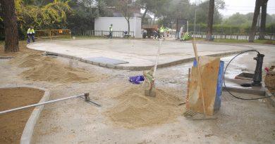 Teleboadilla. Remodelación integral del parque Bonanza