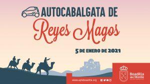 Teleboadilla. Autocabalgata de Reyes 2021